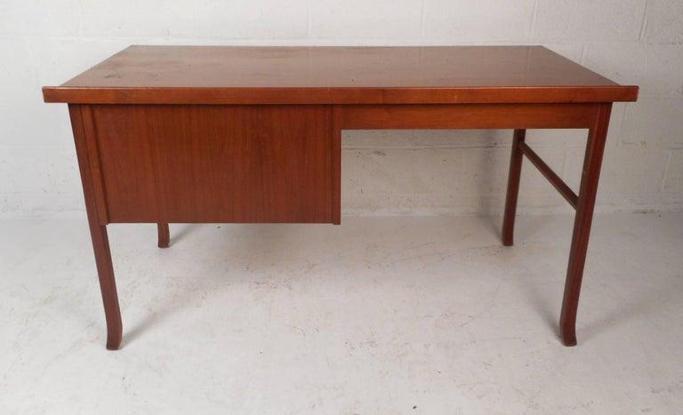 Mid-Century Modern Danish Teak Desk 6