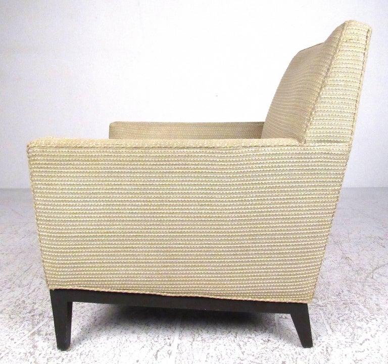 Mid-Century Modern Dunbar Lounge Chair by Edward Wormley For Sale