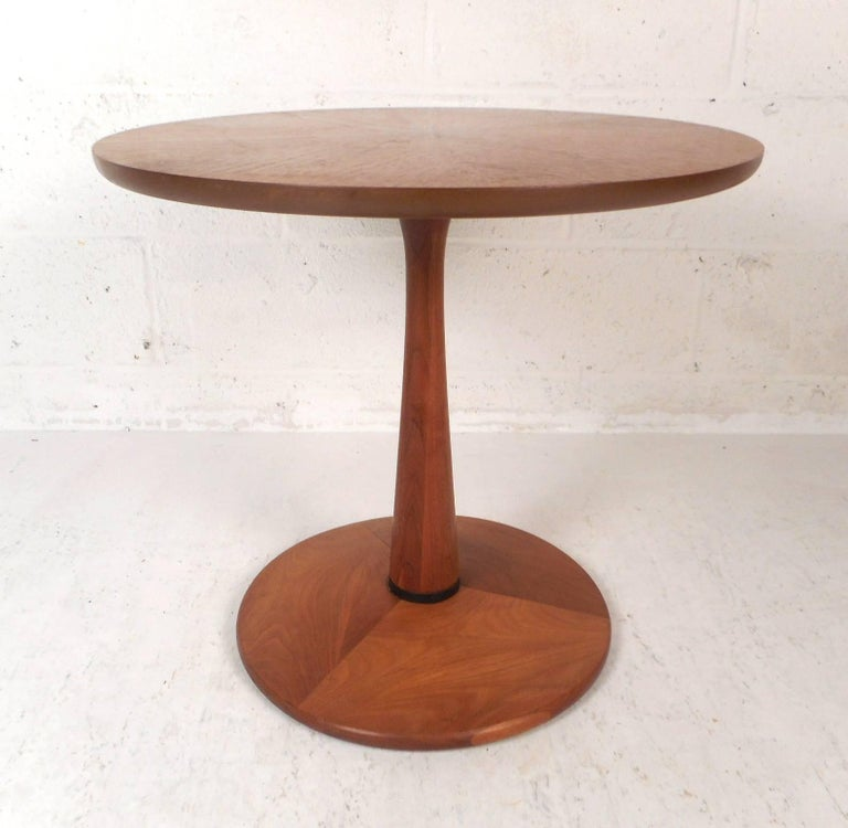 American Mid-Century Modern Kipp Stewart End Table by Drexel For Sale