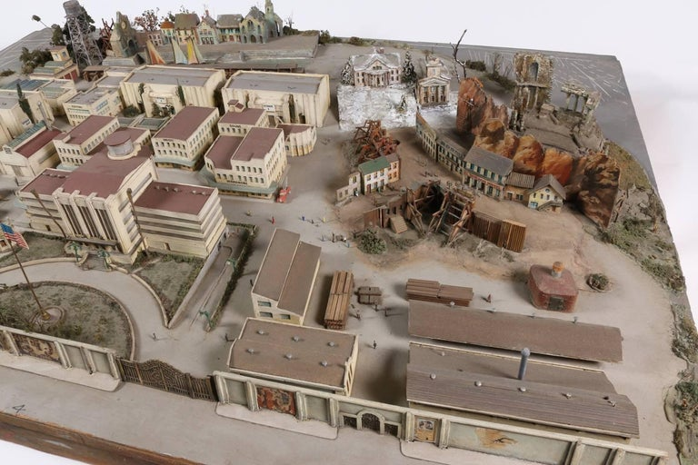 Motion Picture Film Studio Diorama 1930s Hollywood In