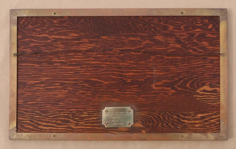 rare mcdonald 39 s commemorative ceramic tile plaque 1984 at. Black Bedroom Furniture Sets. Home Design Ideas