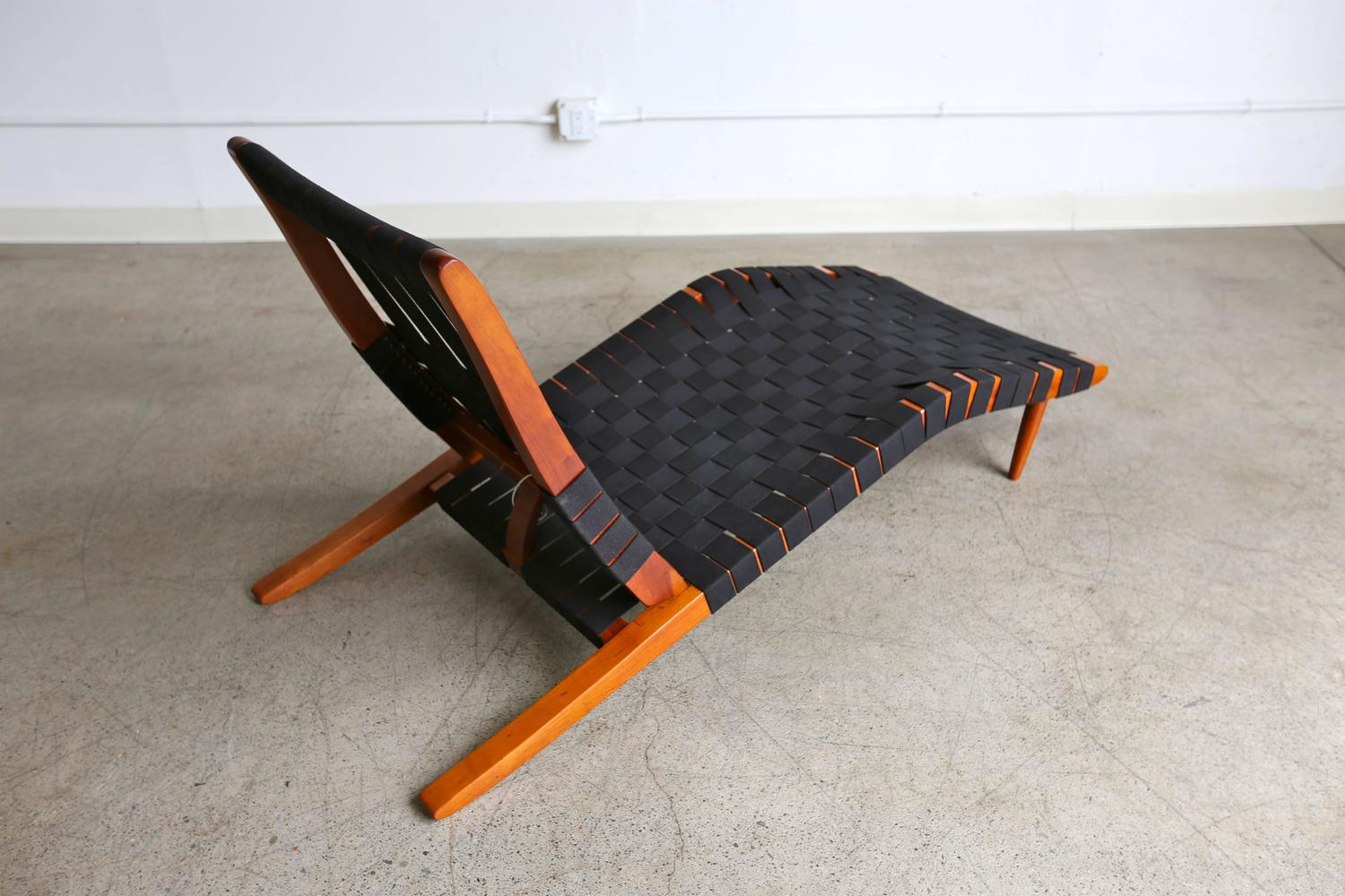 Quot Long Chair Quot By George Nakashima At 1stdibs
