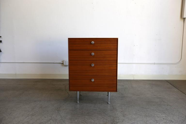 """Thin Edge"" chest of drawers by George Nelson for Herman Miller."