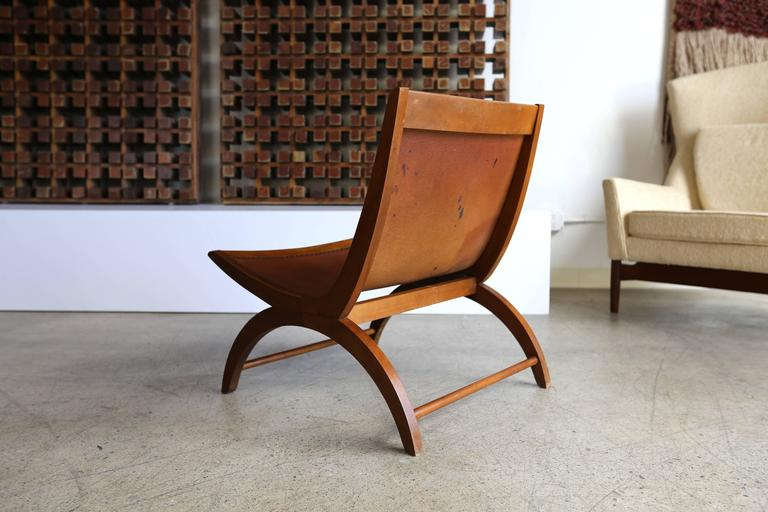 Lounge Chair by Milo Baughman for Murray In Good Condition For Sale In Laguna Hills, CA
