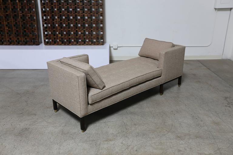 Mid-Century Modern Dunbar Tête-à-Tête Sofa by Edward Wormley For Sale