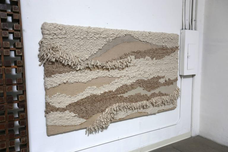 Large Abstract Macrame Wall Sculpture For Sale At 1stdibs