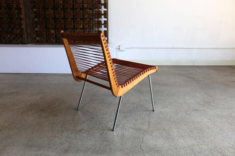 Ordinaire Mid Century Modern String Chair By Robert J Ellenberger For Calfab For Sale