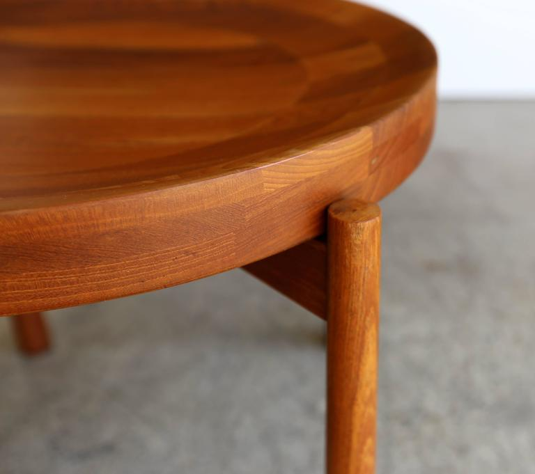 Swedish Teak Side Table Imported by Dux