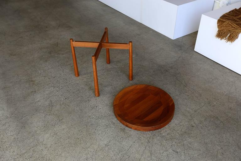 Teak Side Table Imported by Dux 2