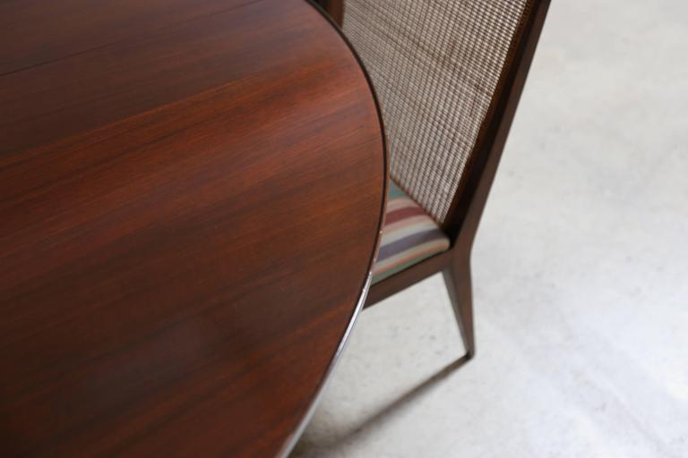 Mahogany Dining Set by Edward Wormley for Dunbar For Sale