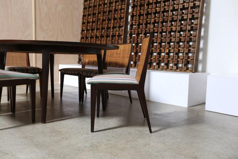 Mid-Century Modern Dining Set by Edward Wormley for Dunbar For Sale