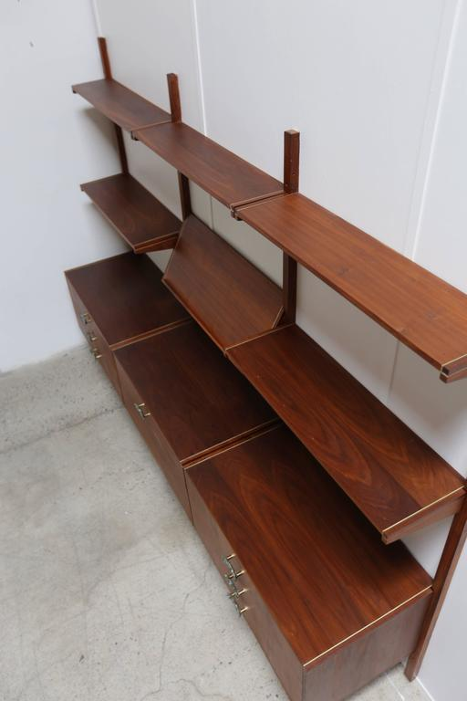 Mid-Century Modern Wall Unit by Gerald McCabe For Sale