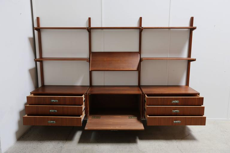 20th Century Wall Unit by Gerald McCabe For Sale