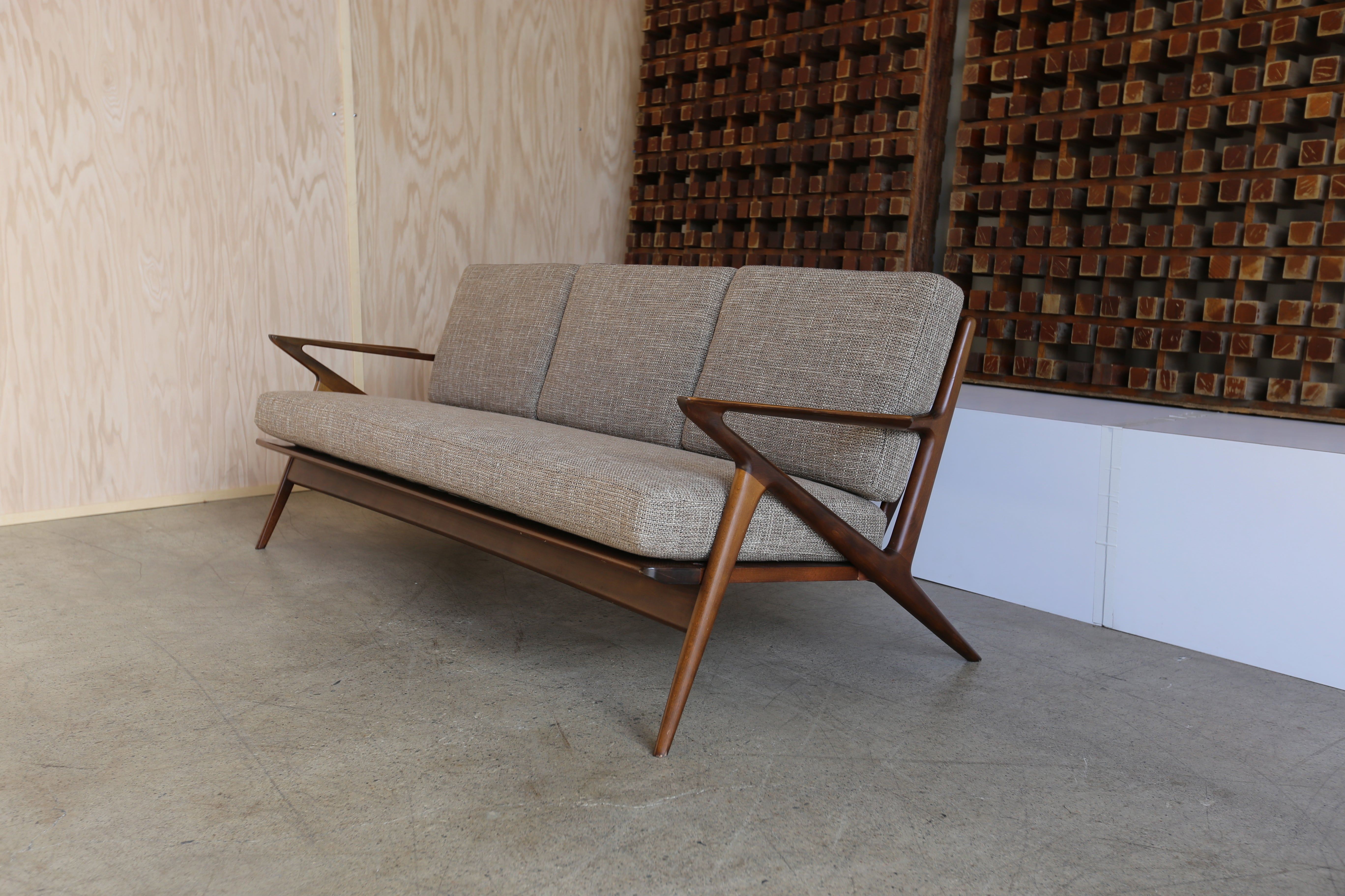 Z Sofa by Poul Jensen for Selig at 1stdibs