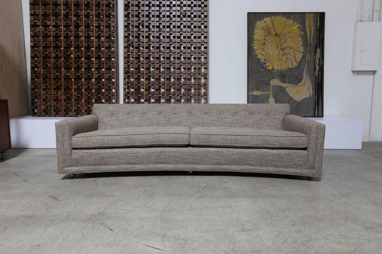 Curved Sofa by Edward Wormley for Dunbar ==== MOVING SALE !!!!!!!!!!! 3