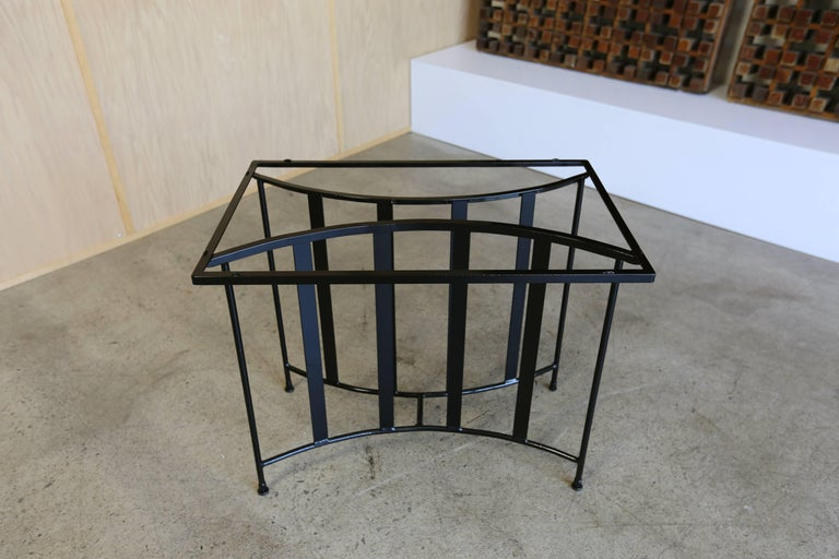 American Console Table by Paul Laszlo for Pacific Iron For Sale