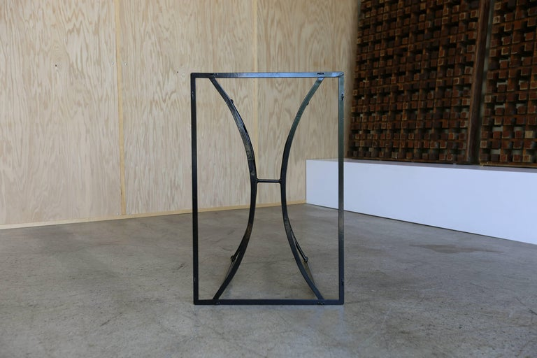 Console Table by Paul Laszlo for Pacific Iron In Excellent Condition For Sale In Laguna Hills, CA