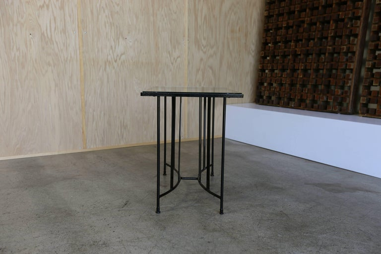 20th Century Console Table by Paul Laszlo for Pacific Iron For Sale