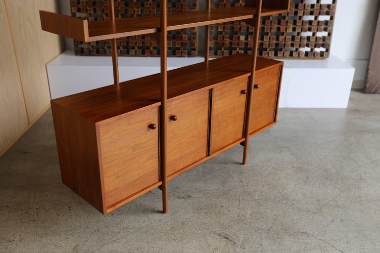 Milo Baughman Room Divider for Glenn of California In Good Condition For Sale In Costa Mesa, CA