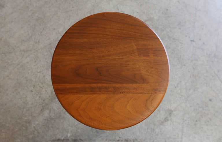 American Occasional Table or Stool by Kipp Stewart & Stewart MacDougall for Glenn of Ca. For Sale