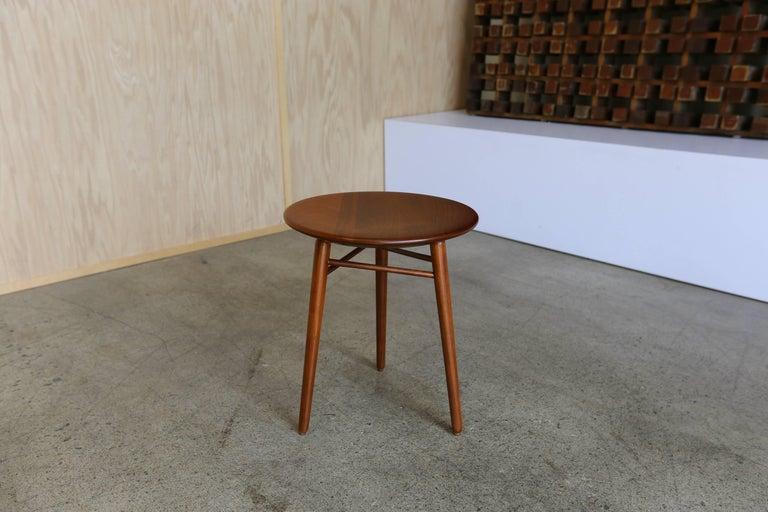 Occasional table or stool by Kipp Stewart & Stewart MacDougall for Glenn of California.