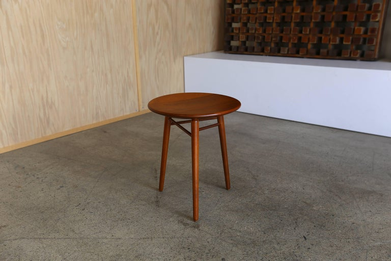 Mid-Century Modern Occasional Table or Stool by Kipp Stewart & Stewart MacDougall for Glenn of Ca. For Sale