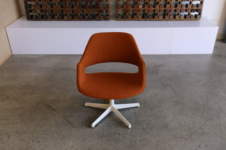 Swivel Armchair By Arthur Umanoff For Madison Furniture At