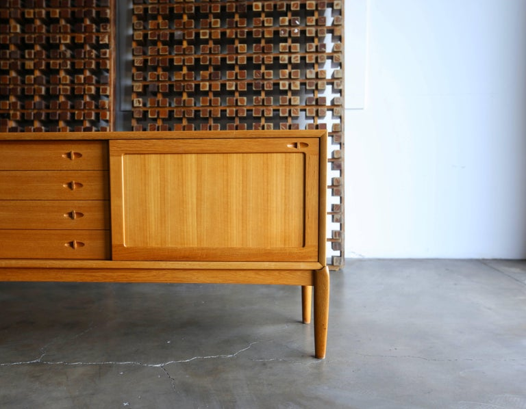 Mid-Century Modern Credenza by H.W. Klein for Bramin Mobler For Sale
