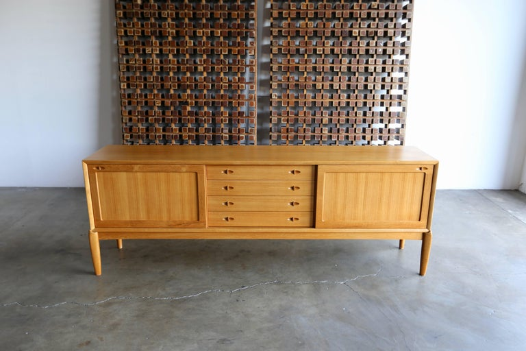 20th Century Credenza by H.W. Klein for Bramin Mobler For Sale