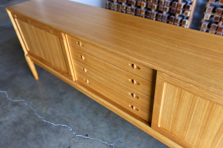 Wood Credenza by H.W. Klein for Bramin Mobler For Sale