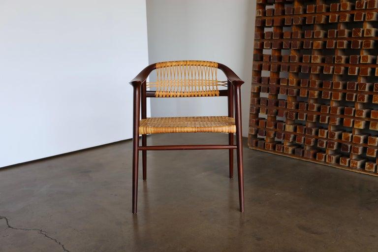 """Norwegian """"Bambi"""" Armchair Byrolf Rastad & Adolf Relling for Gustav Bahus For Sale"""