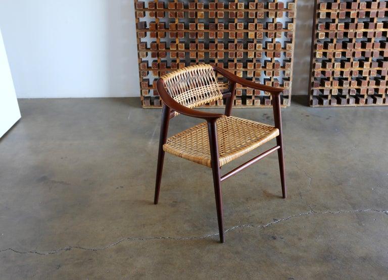 """""""Bambi"""" armchair by Rolf Rastad & Adolf Relling for Gustav Bahus."""