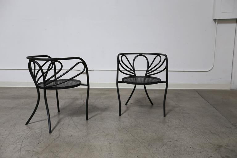 Pair Of Armchairs By California Designer Walter Coons For Clark U0026amp;  Burchfield.
