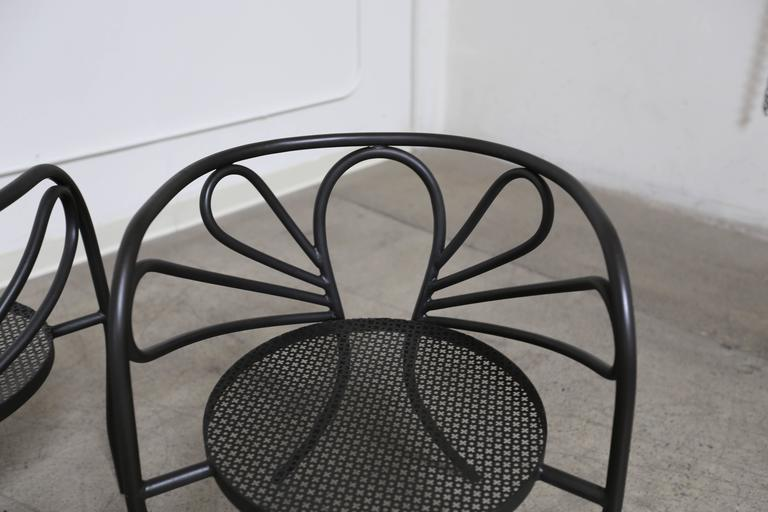 Gentil Rare Armchairs By Walter Coons For Clark U0026 Burchfield In Good Condition For  Sale In Laguna
