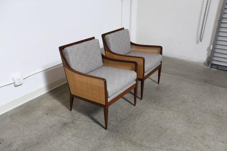 Mid-Century Modern Lounge Chairs by Milo Baughman for Directional For Sale