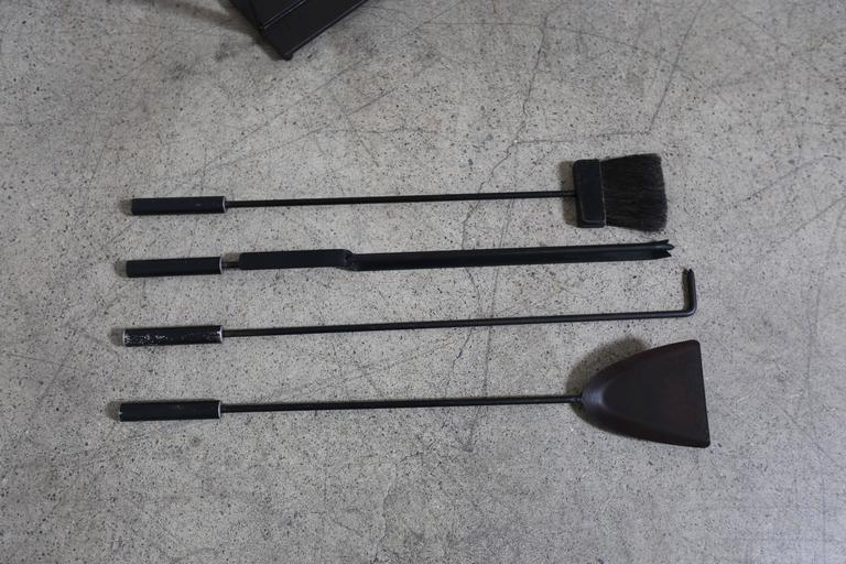 20th Century Modernist Fire Tools For Sale