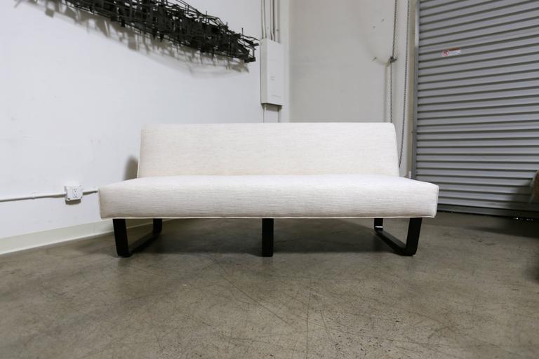 Edward Wormley slipper sofa for Dunbar.