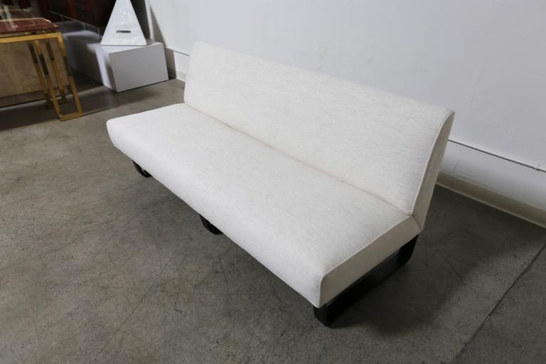 Mid-Century Modern Edward Wormley Slipper Sofa for Dunbar ===== MOVING SALE !!!!!  For Sale