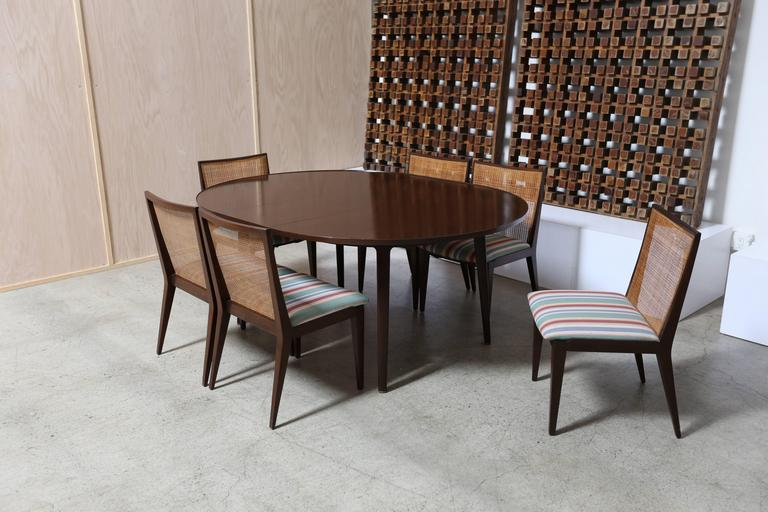 Dining Set by Edward Wormley for Dunbar In Excellent Condition For Sale In Costa Mesa, CA