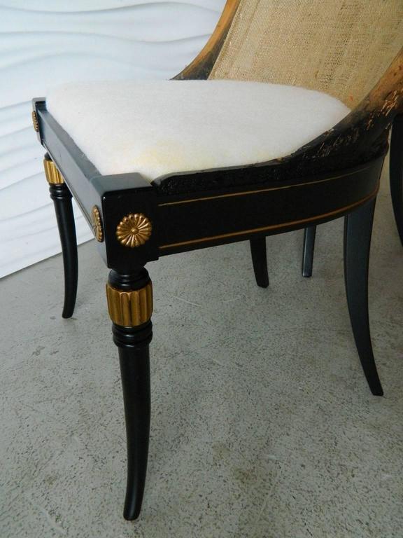 Pair of Regency-Style Chair Frames 5