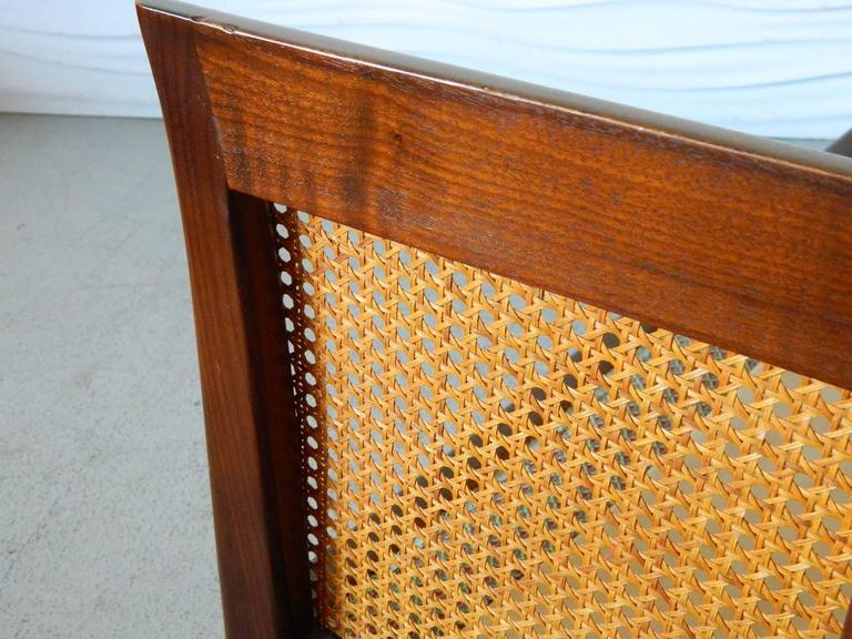 20th Century Erwin-Lambeth Caned Settee For Sale