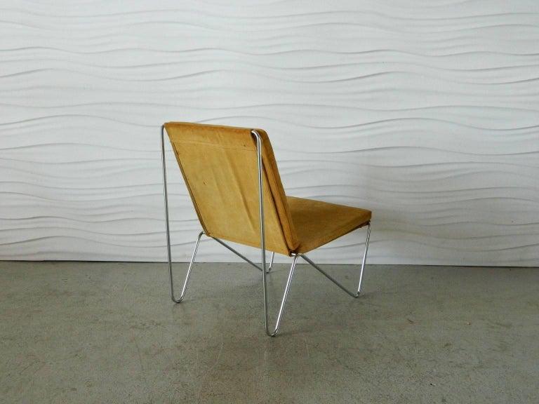 Plated Verner Panton Bachelor Chair For Sale