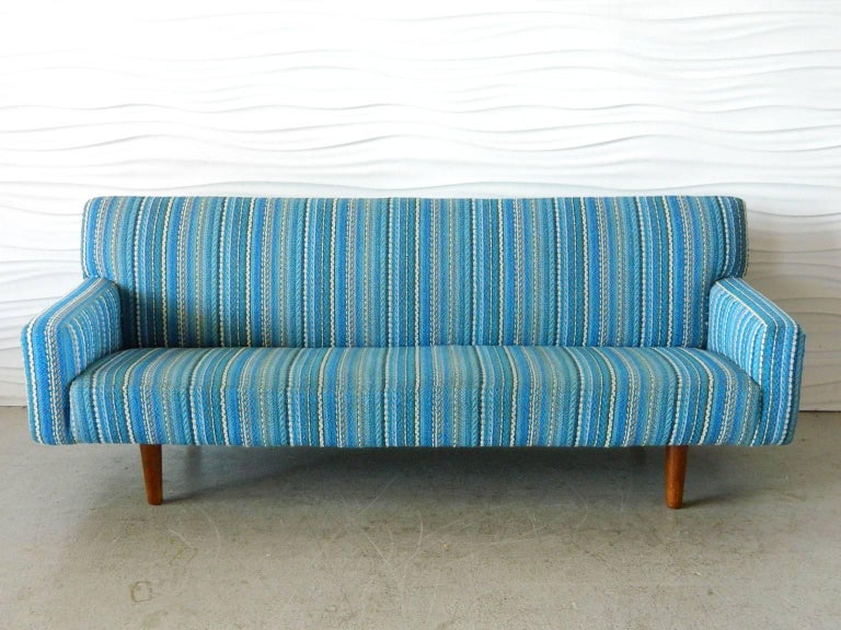 Classic 1950s sofa by Hans Wegner for A.P. Stolen.