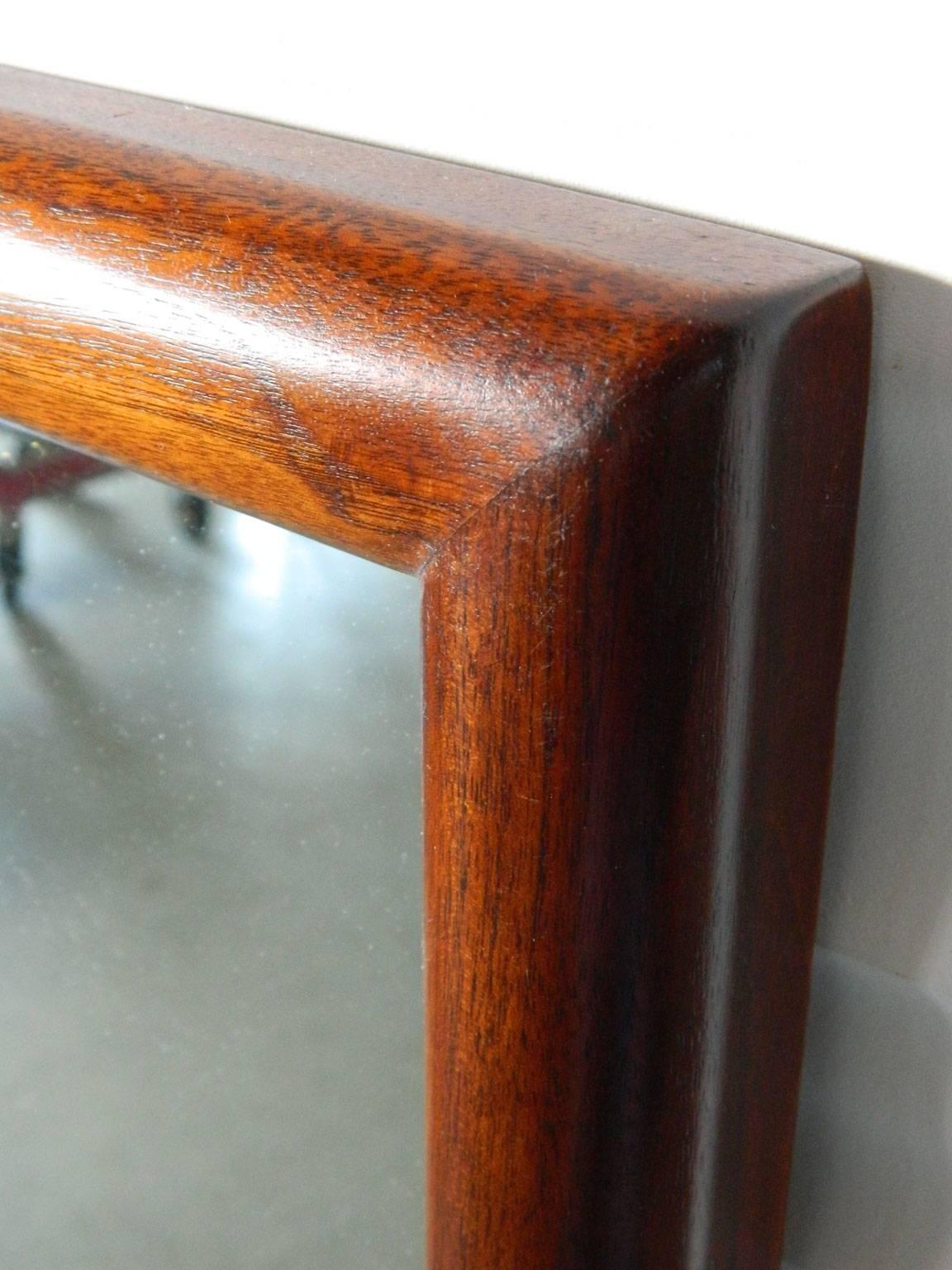 Mid Century Modern Walnut Mirror By Widdicomb Furniture Co. 3
