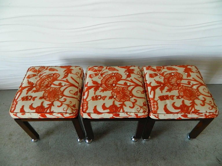 Mid-Century Modern Harvey Probber Stools For Sale