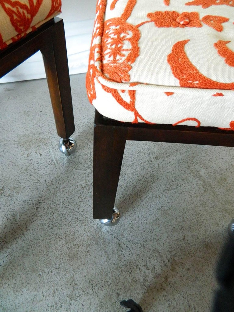 Harvey Probber Stools In Good Condition For Sale In Baltimore, MD
