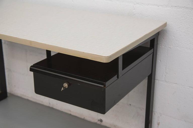 Formica Friso Kramer Teacher's Desk with Drawer For Sale