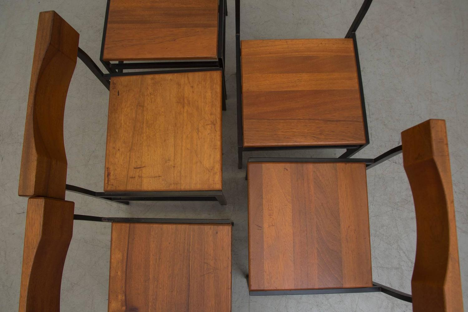 Solid Wood Church Chairs For Sale At 1stdibs