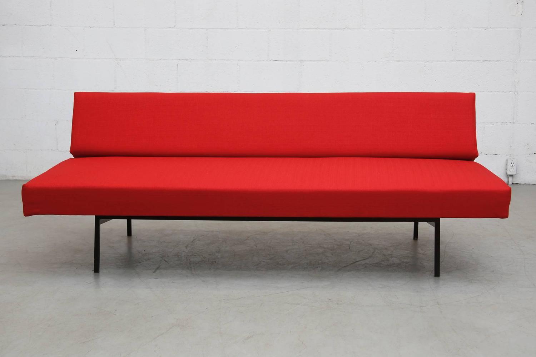 gijs van der sluis streamline sleeper sofa daybed for sale at 1stdibs. Black Bedroom Furniture Sets. Home Design Ideas