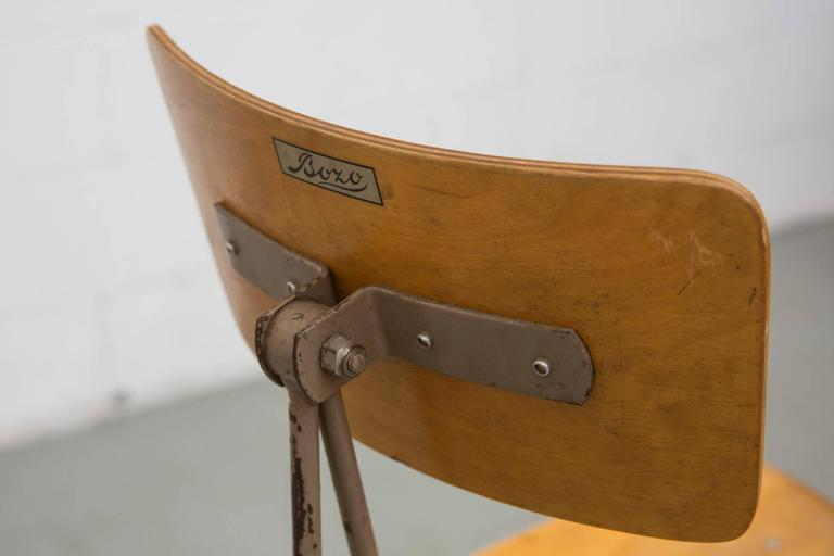 Friso Kramer Style Drafting Stool For Sale At 1stdibs
